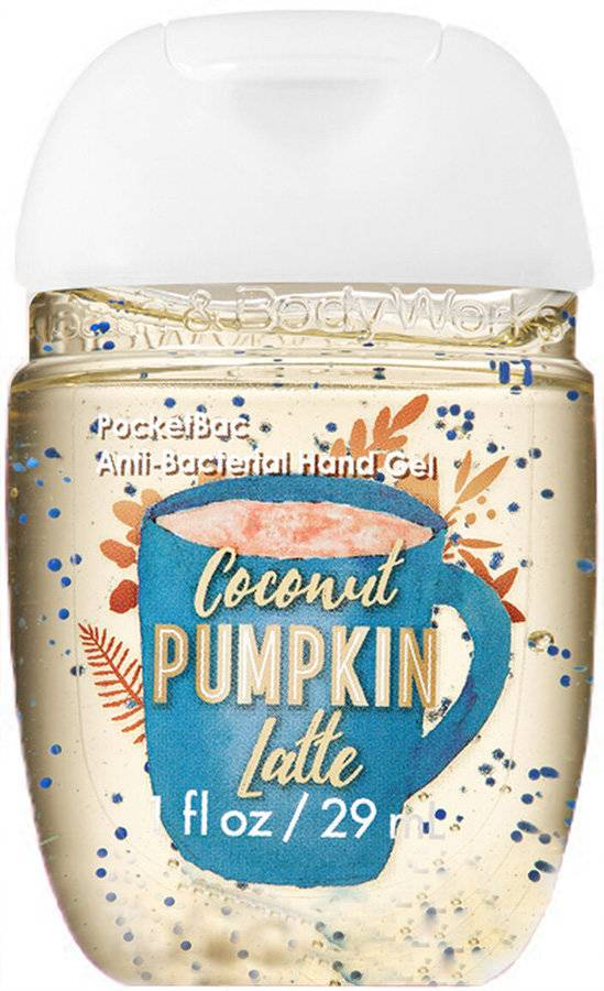 Санитайзер Bath and Body Works Coconut Pumpkin Latte Hand Sanitizers