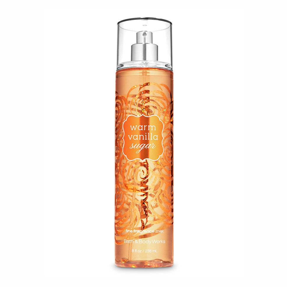 Мист для тела Bath and Body Works Warm Vanilla Sugar Fine Fragrance Mist
