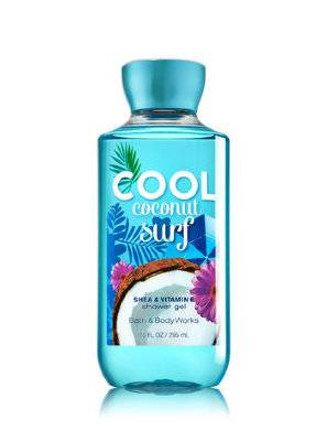 Гель для душа Bath and Body Works Cool Coconut Surf