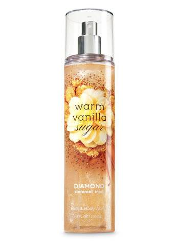 Bath and Body Works Warm Vanilla Sugar - Мист с шиммером