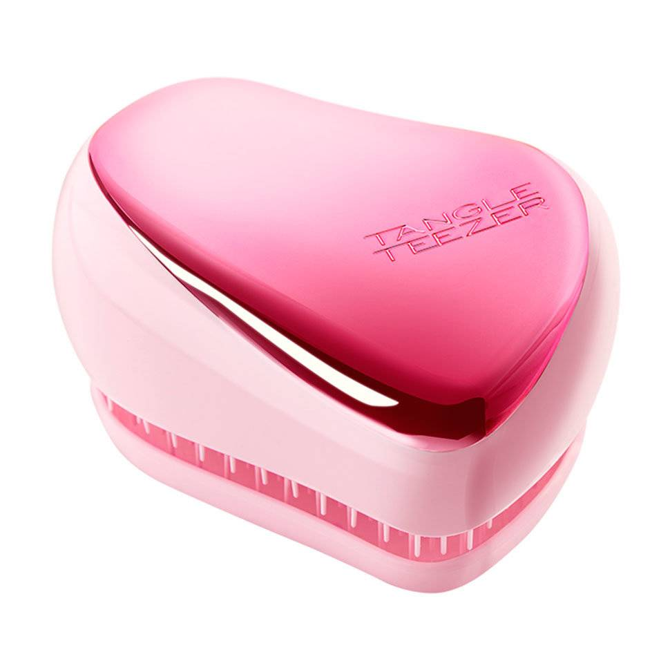 Расческа Tangle Teezer Compact Styler Baby Doll Pink Chrome