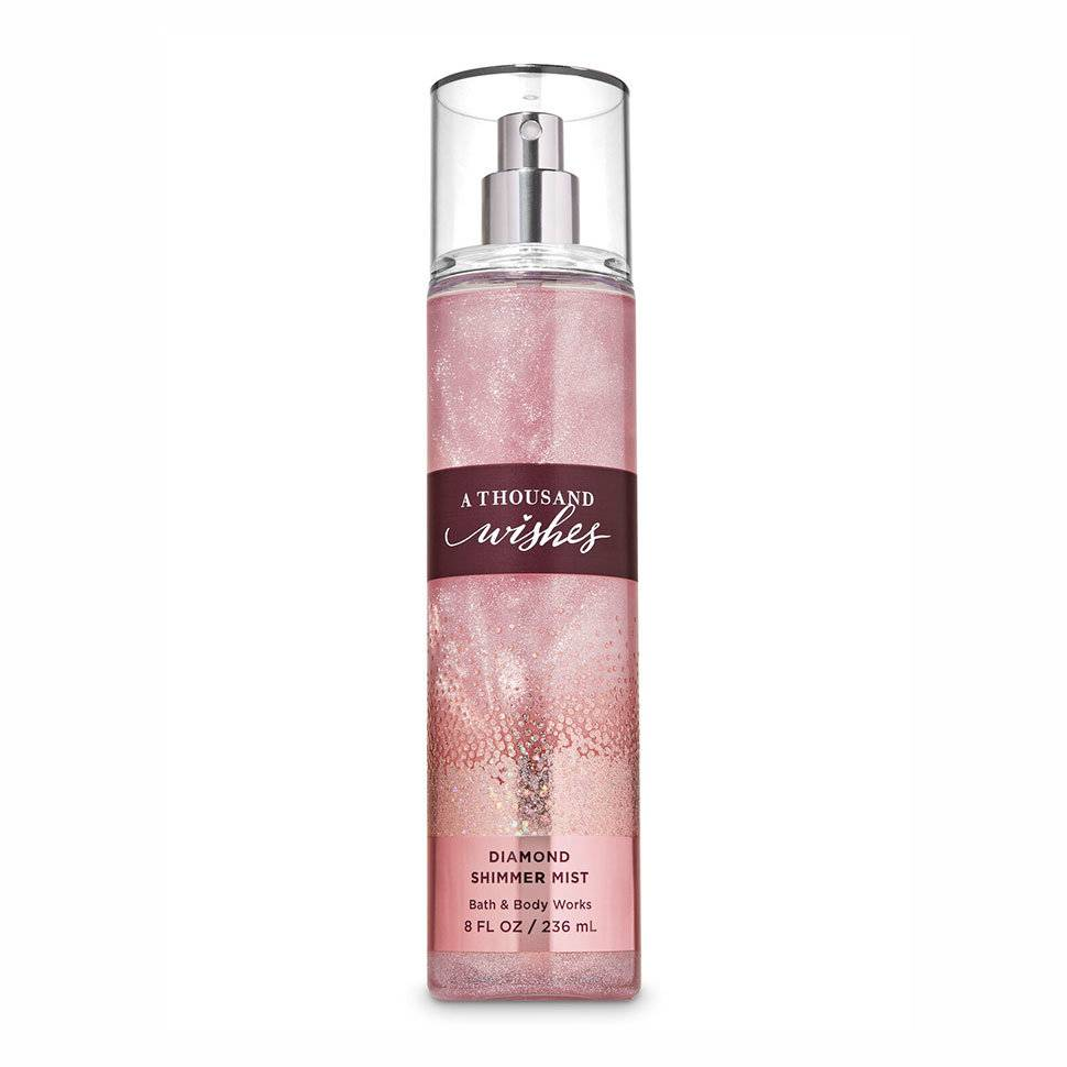 Мист с шиммером Bath and Body Works A Thousand Wishes Diamond Shimmer Mist